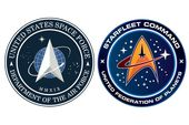 Here's the logo for Trump's Space Force, and it looks awfully familiar