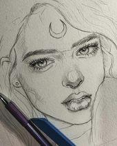 @lookandwow sur Instagram: «SDes croquis au crayon incroyables😊Éclairez Sk …
