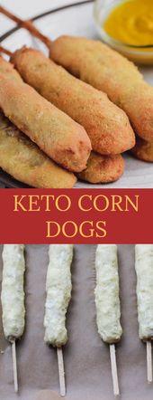 KETO CORN DOGS #Keto #Corndogs