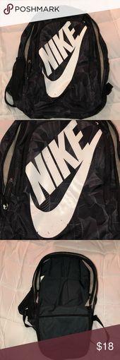 Nike backpack Nike back pack Some wear and tear o…
