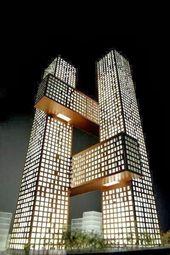 Wunderbare Architektur auf der ganzen Welt !!! Teil -1 – Cross Towers von BIG, Seoul