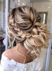 Trendy wedding hairstyles 2018