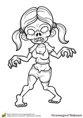 Dessin Halloween Zombie.Coloriage Zombie Fille Zombie Drawings Halloween Coloring Graffiti Characters