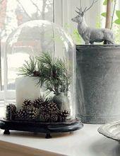 99 Ideen für skandinavische Weihnachtsdeko #dekow…