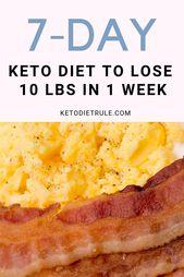 Suchen Sie ein Beispiel für einen Keto-Diät-Ernährungsplan, um diese beliebte Diät auszuprobieren?   – KETO