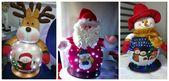 Aprende a crear hermosas muñecas navideñas paso a paso: costura y patrones   – Costura manualidades
