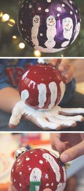 DIY Christmas Craft Ideas for Kids – Easy Handprin…