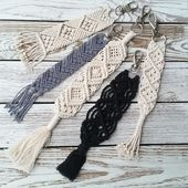 Make macrame yourself? How to knot hampers, wall hanging & Co