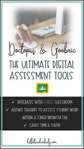 Doctopus and Goobric: The Ultimate Digital Assessment Tools — Hello, Teacher Lady