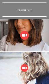 20 schöne Farben z. Hd. Kurzer Teppich #bobfrisuren #asymmetrische Frisuren #on…-#Asymmetrische #bobfrisuren #br