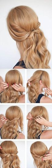 ▷ 1001 + ideas for beautiful hairstyles plus DIY instructions #a …