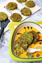 Broccoli Taler mit Parmesan – ein gesunder Snack   – ❤️ Die besten Blogger Rezepte für Kinder