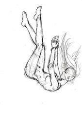 Falling Sketch von ElishaAistrup auf DeviantArt #DeviantArt #ElishaAistrup #fall…