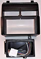 Double Din Dash Kit Harness Antenna Adapter And Pocket For Installing A New Radio Into A Chevrolet And Gmc Full Size Blaze Gmc Chevrolet Cool Car Accessories