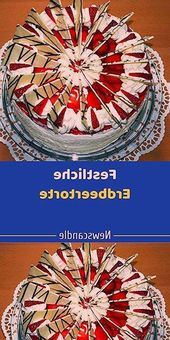 Strawberry cake with chic chocolate decoration Calories per piece Strawberry cake …