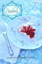 Pavlova Recipe – the perfect summer dessert! Light…