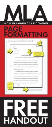 MLA Paper Formatting – FREE Handout to Mannequin M.L.A. Entrance Web page Submission Format