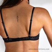 Small Minimalist Lotus Flower Temporary Tattoo (Set of 4)   – Tattoos