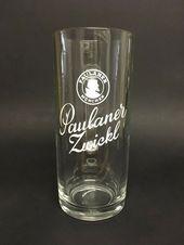 """Paulaner – German Beer Glass 0.5 Liter Stein – """"Zwickl"""" – NEW – german beer glas…"""