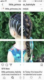 Little Girls Hair Braided | Wedding Hairstyles | Girl Hair Cutting Photo