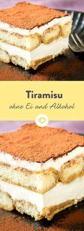 Tiramisu ohne Ei und ohne Alkohol – Dolci für alle