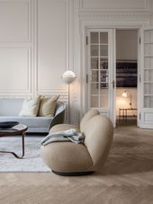 Pacha Lounge Chair – Voll gepolsterter Drehsessel