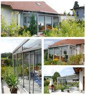 Und wieder ein fröhlicher Sommergartenkunde von Schmidinger   – Schmidinger Projekte – Wintergarten, Verglasungen, Fenster & Türen