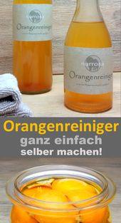 Orangenreiniger ganz einfach selber herstellen –…