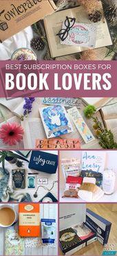 Les meilleures boîtes d'abonnement pour les amateurs de livres   – Monthly Subscription Boxes