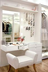 Dressing Room Dresser: 60 models and ideas to enhance the decor
