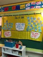 Tug of War – Bulletin Board Idea.