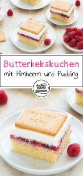 Butterkeks-Kuchen mit Beeren   Backen macht glücklich – Backen mit Kindern Rezepte