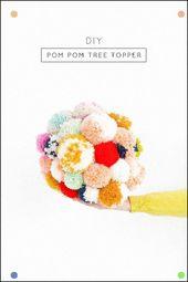 Diy Tree Topper und unser Urlaubsraum mit Martha Stewart – Zucker und Stoff #Hol …