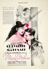The Merry Widow 1934 Jeanette Macdonald Maurice Chevalier Jeanette