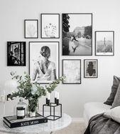 Bilderwand wunderschöne Fotokunst – Inspiration B…