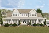 Spacious Two-story House Plan with In-law Suite above Garage   – Hendrickson Home