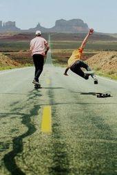 O melhor na amizade com o Beto period que, sempre que eu caía ele estendia o braço. skate