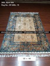 260L Turkish silk carpet #carpet#rug#persiancarpe…