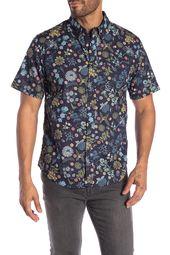 bf893523 WALLIN & BROS | Hawaiian Short Sleeve Performance Fit Shirt in 2019 | Robin  | Hawaiian shorts, Workout shirts, Mens tops