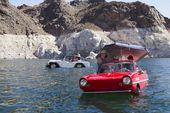 El lago Havasu está lleno de autos anfibios fabricados en los años sesenta   – Solo para tus ojos