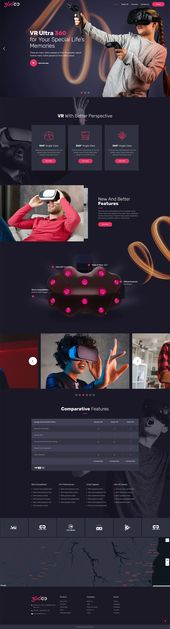 Bridge WordPress Theme – Virtual Reality Demo