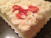 Blechkuchen auf Pinterest | Hochzeit Blatt Kuchen, Blatt Kuchen Designs …   – Cakes