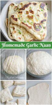 Como Fazer Naan   – Food