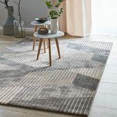 Photo of Esprit short pile carpet »Tamo« gray taupe
