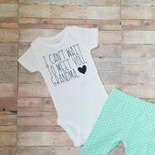 Baby announcement – pregnancy announcement – personalized baby reveal – custom pregnancy reveal – unique announcement – grandparent – aunt  – Expecting baby
