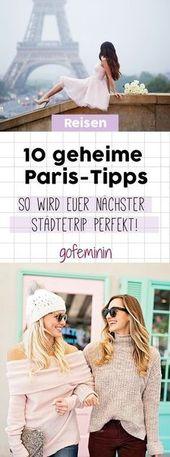 10 secret Paris tips: So your next city trip will be perfect!