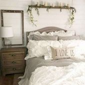 65 Farmhouse Master Bedroom Decorating Ideas – DoMakeover.com