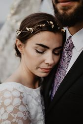 Hair Jewelry Gold, Boho Wedding – Rhya