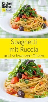 Hier findet ihr ein Rezept für Spaghetti, angeric…