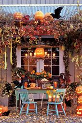 Halloween decoration in 44 examples – Immerse yourself in the real Halloween mood